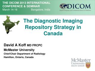 The Diagnostic Imaging Repository Strategy in Canada