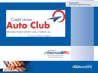 What is Credit Union Auto Club?