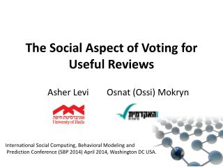 The Social Aspect of Voting for Useful Reviews