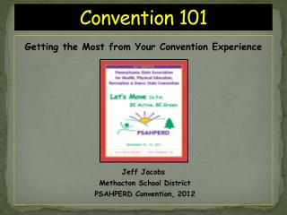 Convention 101