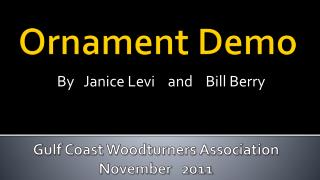 Ornament Demo