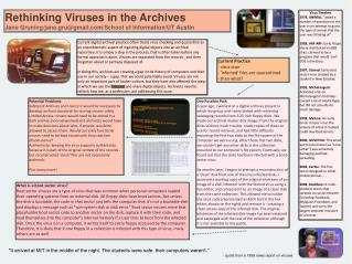 Rethinking Viruses in the Archives