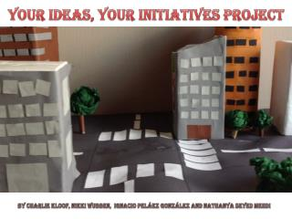 YOUR Ideas, YOUR Initiatives project
