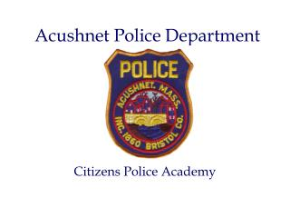 Acushnet Police Department
