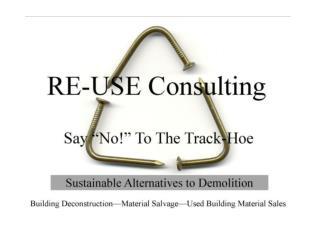 Hybrid Deconstruction: Commercial Case Study