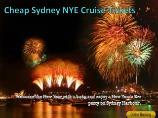 Cheap NYE Cruise Tickets Sydney Harbour