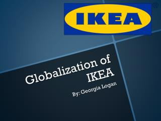 Globalization of IKEA