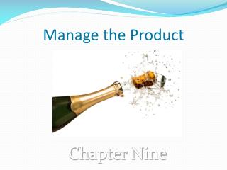 Manage the Product
