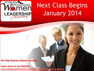 Next Class Begins January 2014