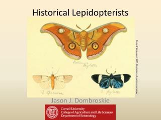 Historical Lepidopterists