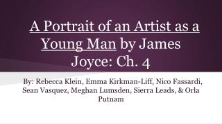 A Portrait of an Artist as a Young Man by James Joyce: Ch. 4