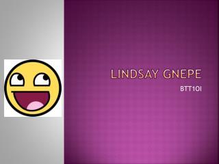 Lindsay Gnepe