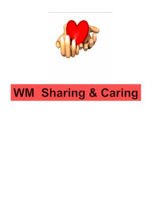 WM  Sharing & Caring