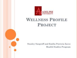 Wellness Profile Project
