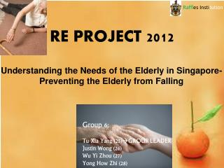 RE PROJECT 2012