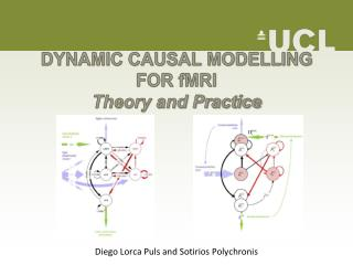 DYNAMIC CAUSAL MODELLING FOR fMRI Theory and Practice
