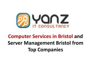 Computer Services In Bristol And Server Management Bristol F
