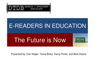 E-READERS IN EDUCATION