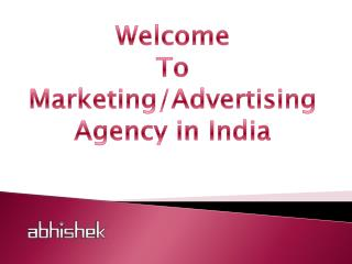Affordable Advertising Services Provider India