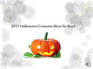 Halloween Costume for Boy