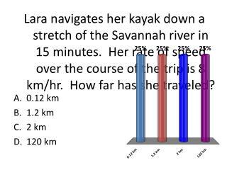 0.12 km 1.2 km 2 km 120 km