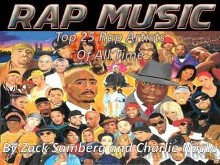 Top 25 Rap Artists Of All Time