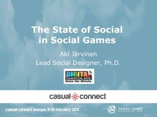 The State of Social  in Social Games