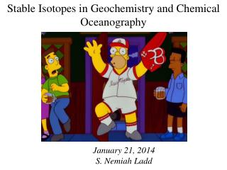 Stable Isotopes in Geochemistry and Chemical Oceanography