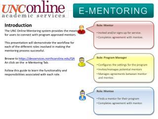 E-MENTORING