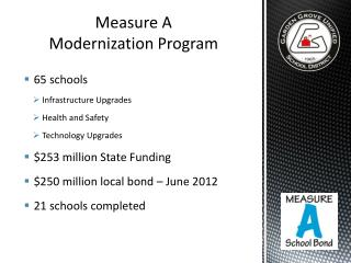 Measure A Modernization Program