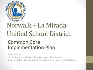 Norwalk – La Mirada Unified School District
