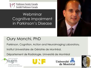 Webminar Cognitive  Impairment  in  Parkinson's Disease