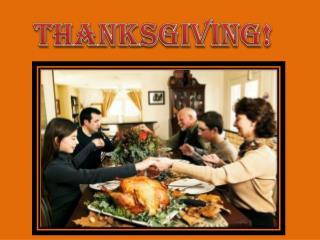 Thanksgiving !