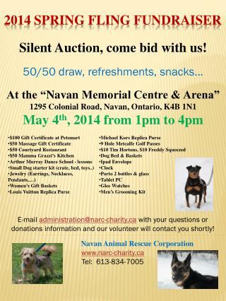 2014 Spring Fling Fundraiser