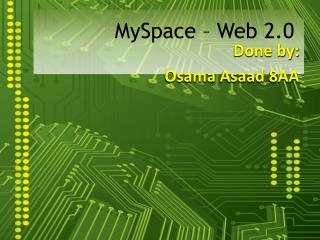 MySpace – Web 2.0