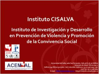 Instituto  CISALVA