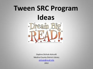 Tween SRC Program Ideas
