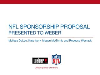 NFL Sponsorship Proposal Presented to Weber