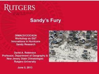 Sandy's Fury