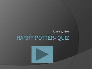 Harry  Potter-  quiz