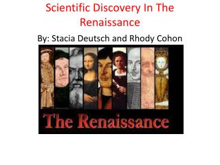 Scientific Discovery In The Renaissance