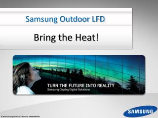 Samsung Outdoor LFD