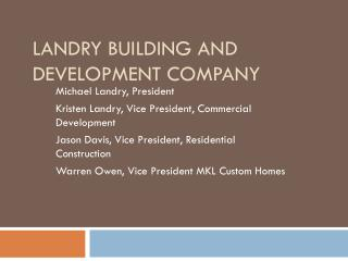 Landry Building and Development Company