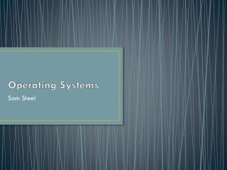 Operating  Systems