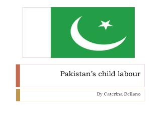 Pakistan's child labour