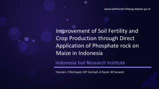 Indonesia Soil Research Institute