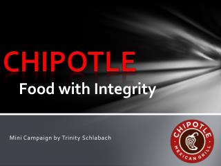 Food with Integrity