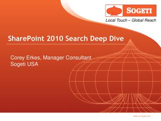 SharePoint 2010 Search Deep Dive