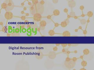 Digital Resource from Rosen Publishing