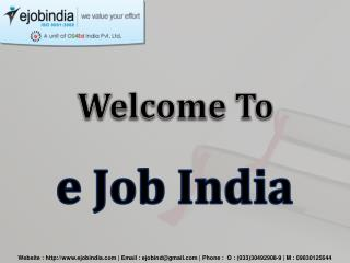 Ejob India Is The Best Institute for Software Training